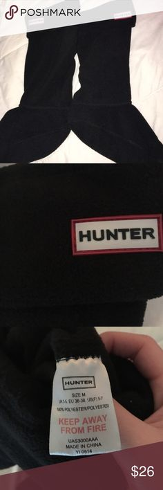 Hunter Boots Socks Practically Like New Hunter Boots Other