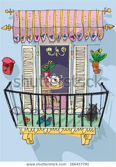 Descubra Cute Balcony Cartoon imágenes de stock en HD y millones de otras fotos, ilustraciones y vectores en stock libres de regalías en la colección de Shutterstock. Se agregan miles de imágenes nuevas de alta calidad todos los días.
