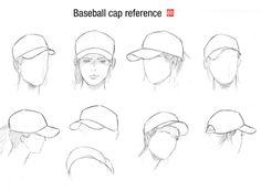 Baseball cap and head guide by randychen.deviantart.com on @deviantART
