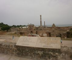 Termas, Cartago