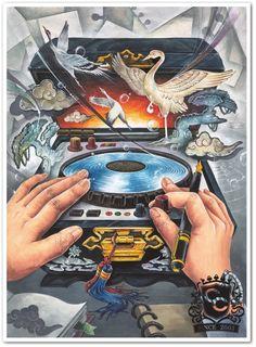 사고발상 Illustration Story, Illustration Sketches, Symbolic Art, Composition Art, Ap Studio Art, Graffiti, Ap Art, Environmental Art, Art Portfolio