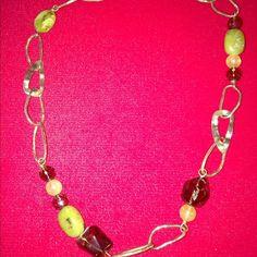 Silpada retired Necklace RETIRED Sterling Silver Jade Smoky Quartz Citrine Necklace. Retailed $90 Silpada Jewelry Necklaces