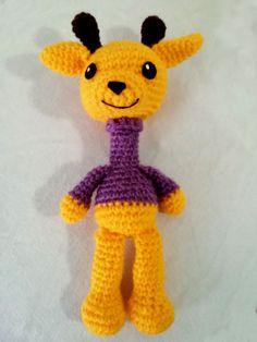 patron gratuito jirafa amigurumi crochet jiraffe english pattern