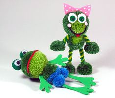 Pom pom frogs