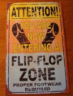 I need a Pool! Flip Flop Zone Hawaiian Tiki Cantina Tropical Beach Bar Pool Decor Sign New Pool Signs, Beach Signs, Lake Signs, Flip Flops Leder, Hawaiian Tiki, Hawaiian Decor, Beach Quotes, Surf Quotes, Ocean Quotes