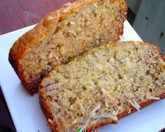Diabetic Recipes - Banana Coconut Bread