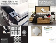 Trends: As Simple as Black & White &  To the Four Corners #hpmkt