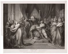 Henry Fuseli, King Lear Casting Out His Daughter Cordelia (1803)