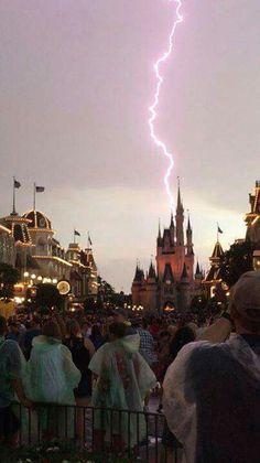 Castle lightning