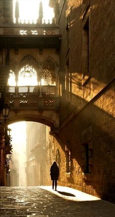 """Light of Barcelona"".. Spain // by Jan Geerk"