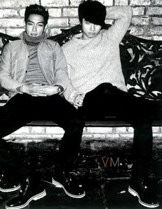 TOP and Daesung