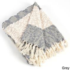 Saro Nubby Design d Throw Blanket