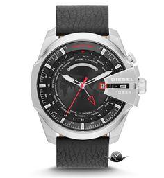 731570aad74 Dagaanbieding  Diesel Mega Chief World Time horloges