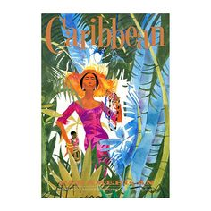 Holiday in the Caribbean without leaving your home with this beautiful canvas print