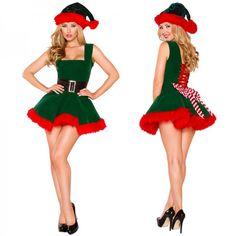 Women Santa's Helper Costume Green and Red Hairy Christmas Dress Women Santa's Helper Costume Green and Red Hairy Christmas Dress.Women Santa's Helper Costume Green and Red Hairy Christmas Dress. Xmas Fancy Dress, Fancy Dress Outfits, Party Dresses, Cap Dress, Dress Hats, Costume Dress, Adult Costumes, Costumes For Women, Santa's Helper Costume