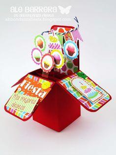 Card in Box de Cumpleaños! | Abbondanza Fiesta - Papel para Scrapbook en México