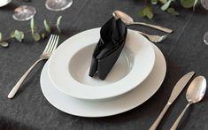Servietten falten » 15 Anleitungen und Videos | OTTO Napkin Folding, Napkins, Brunch, Plates, Table Decorations, Tableware, Ethnic Recipes, Videos, Food