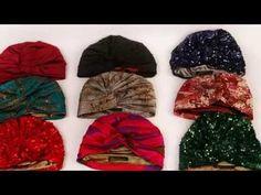como hacer un turbante en terciopelo Video No.513 creacionesrosaisela - YouTube