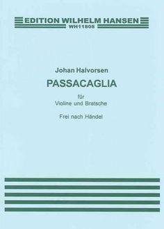 Passacaglia: fur Violine und Bratsche