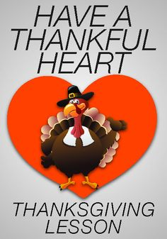 28 Best Thanksgiving Have A Thankful Heart Childrens Ministry