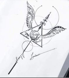 Harry Potter Tattoos, Harry Potter Artwork, Harry Potter Drawings, Harry Potter Wallpaper, Harry Potter Diy, Bild Tattoos, Love Tattoos, Body Art Tattoos, Tattoo Drawings