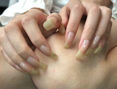 Long Natural Nails, Long Nails, Lei, Beautiful, Natural Nails, Gorgeous Nails, Cute Nails