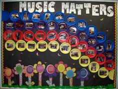 Mrs. King's Music Room: MIOSM Bulletin Board or for any time of the year.  Love the paper plates!
