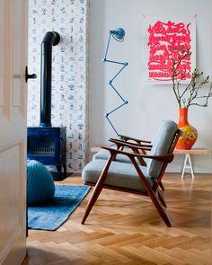 woonkamer Delftsblauw/Talavera?