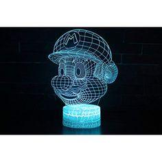 Acrylic Board Night Light Police Cars 3d Night Light Beside Lamp Kids Fell Safe At Night Adjustable 7 Colors Traveling Lights & Lighting