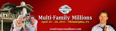 Multi-Family Millions Event This is a live, 3-day boot camp #event. You will leave this event a #multifamily #investing profit expert!