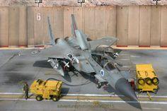 "Boeing F-15Ds ""Improved Baz"" Israeli Air Force - G.W.H. kit, 1:48 scale model - adventurephotomodels"