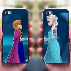 Frozen case pair for sisters or BFFs