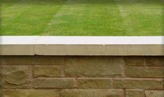 British Yorkstone Paving Suppliers, Yorkstone for building - Stone UK Coping Stone, Stone Uk, Building Stone, Interior And Exterior, Golf Courses, Brick, British, Traditional, Wall