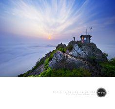 korea,travel,통영,미륵산, South Korea, Scene, Earth, Mountains, Places, Travel, Outdoor, Outdoors, Viajes