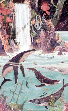 Start Over Summer - Ziggy Alberts — Svabhu Kohli Pretty Art, Cute Art, Wow Art, Aesthetic Art, Oeuvre D'art, Cute Wallpapers, Art Inspo, Painting & Drawing, Fantasy Art