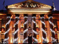 The Dome, Edinburgh at Christmas by steve_fredrico, via Flickr