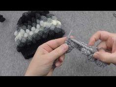 Örgüden Baloncuklu Bere Yapımı, (Boyunluk ile Takım) - YouTube