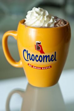 This is Chocomel.... and this will be happening while we are there.