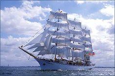 Russian Ship Nadezhda.