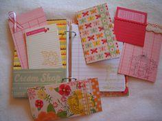 Handmade journal paper goods drawing writing travel by juliekarsky