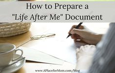 """With estate planning in place many boomers are creating a """"Life After Me"""" document which allows them to say goodbye to family and friends. # With estate planning in place many boomers are creating a """"Life A Funeral Planning Checklist, Retirement Planning, Financial Planning, Emergency Binder, In Case Of Emergency, Family Emergency, Emergency Preparation, When Someone Dies, Last Will And Testament"""