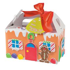 Gingerbread+Treat+Box+Craft+Kit+-+OrientalTrading.com