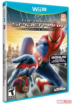"""Get excited, Spidey fans! Activision and Marvel Entertainment has announced that """"The Amazing Spider-Man Ultimate Edition"""" is swinging onto Nintendo's Wii U console on March 5! Get the full details here!     http://marvel.com/news/story/20147/the_amazing_spider-man_comes_to_the_wii_u"""