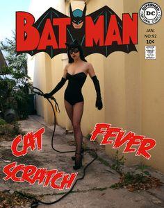 Meowz ♥ Denis Medri: 50's Catwoman (50's Rockabilly Batman) LadyLomax | LADY LOMAX #Cosplay