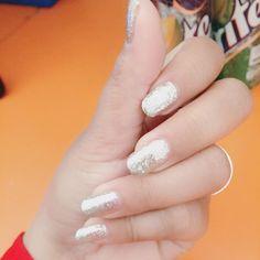 #nails #silver