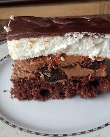 Takie tam moje pomysły: Powtórka. Ciasto z suszonymi śliwkami Sweets Cake, Sweet Desserts, Tiramisu, Ale, Good Food, Treats, Baking, Ethnic Recipes, Chocolate Cakes