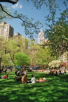 Spring in New York.