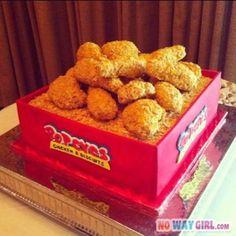Popeyes Chicken Cake