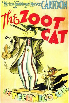 Tom & Jerry in The Zoot Cat, 1944  Can't tell you how many times I've seen this cute cartoon....