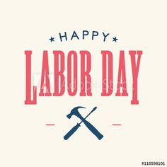 Labor day card, tools icon. United States of America map. Editable vector design.